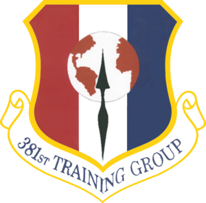 381st Training Group - 381st Training Group emblem