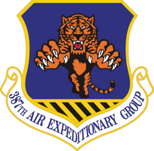 387th Air Expeditionary Group - Emblem of the 387th Air Expeditionary Group