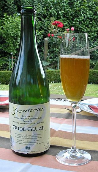 3 Fonteinen - A bottle of 3 Fonteinen Oude Geuze.