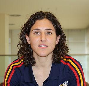 Verónica Boquete - Boquete with Spain in 2012.