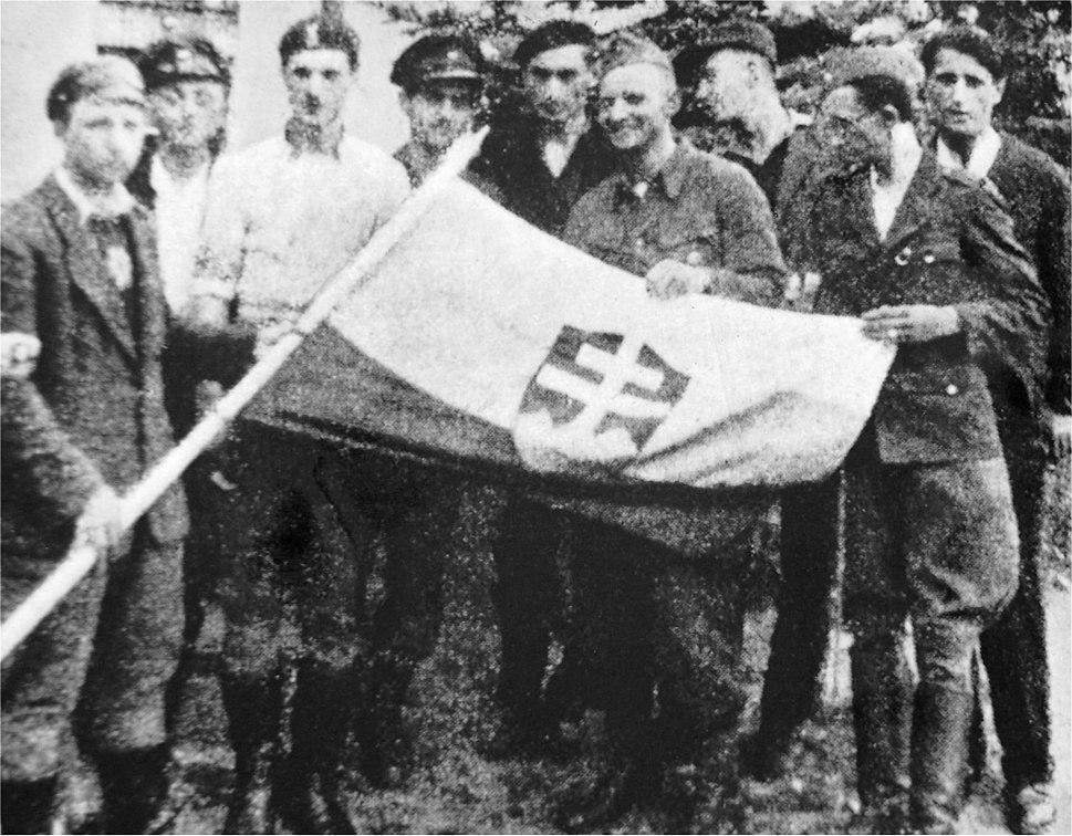 535 pluton Slowakow powstanie
