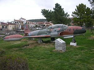 58516 TR-516 a Lockheed T-33A at Elatia Lokridos (SE of Lamia) ..jpg