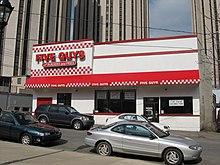 A Five Guys Restaurant In Pittsburgh Pennsylvania