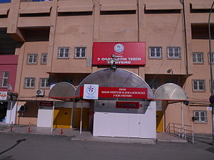 Adana 5 Ocak Stadium - Image: 5 Ocak Stadium Main Entrance