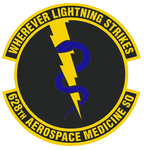 628 Aerospace Medical Sq emblem.png