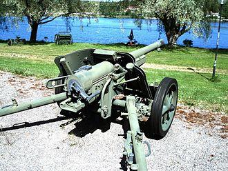 7.5 cm Pak 97/38 - Pak 97/38 in Hämeenlinna Museo Militaria