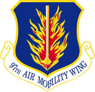Altus Air Force Base - Image: 97th Air Mobility Wing