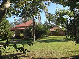 Tivoli, Queensland - 98 Mt Crosby Road is part of the Wright Family Houses