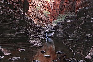 Slot canyon - Knox Gorge, Karijini National Park