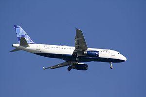 English: A320-232 Jet Blue, N768JB