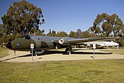 A84-235 Canberra Mk20 after the completion of the restoration work