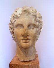 Bust of Alexander (Acropolis Museum n. 1331)