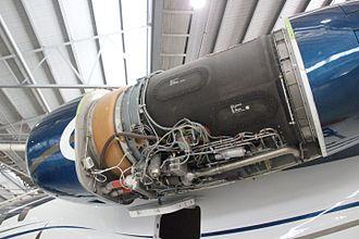 Rolls-Royce AE 3007 - Undergoing maintenance