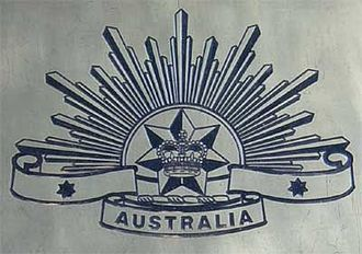 Australian Army Memorial, Canberra - Army 'Rising Sun' badge