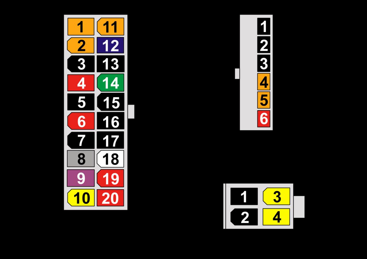 Схема блока питания стационарного компьютера