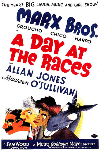 A Day at the Races (film) - theatrical release poster