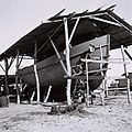 "A FISHING BOAT UNDER CONSTRUCTION FOR THE ""NACHSHON"" COMPANY IN HAIFA PORT. בניית סירת דייג של חברת ""נחשון"" בנמל חיפה.D817-099.jpg"