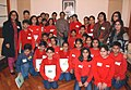 A Group of Students from the Presidium School, New Delhi, calls on the Speaker, Lok Sabha, Smt. Meira Kumar, at Parliament House, in New Delhi on December 06, 2010.jpg