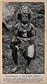 A Liberian medicine man or shaman, West Africa. Halftone. Wellcome V0015946ER.jpg