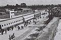 A PASSENGER TRAIN AT THE HAIFA RAILWAY STATION. רכבת נוסעים עומדת בתחנת הרכבת המרכזית בחיפה.D839-115.jpg