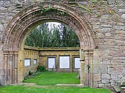 A Splendid Arch at the Abbey - geograph.org.uk - 1513402.jpg