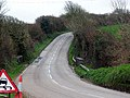 A bend in the road. - geograph.org.uk - 354593.jpg