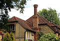 A house roof at Theydon Mount Essex England.JPG