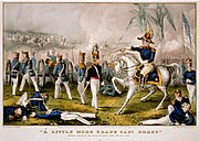 "A little more grape Capt. Bragg""--General Taylor at the Battle of Buena Vista, Feby 23d, 1847"