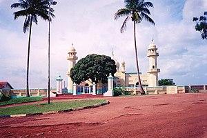 Religion in Uganda - Kibuli mosque in Kampala, Uganda