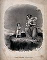 A woman offering her breast to her small child who has just Wellcome V0015042.jpg