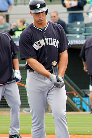 Aaron Judge - Judge during Yankees' spring training in 2015