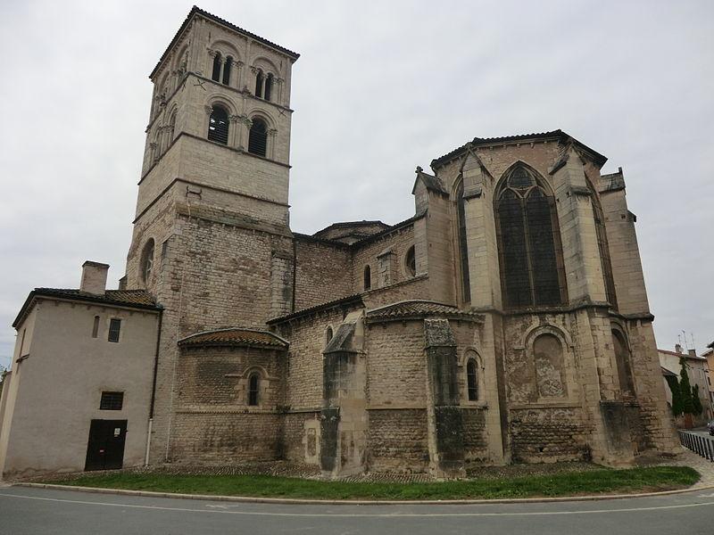 Abbatiale de l'Assomption de Belleville (Rhône).