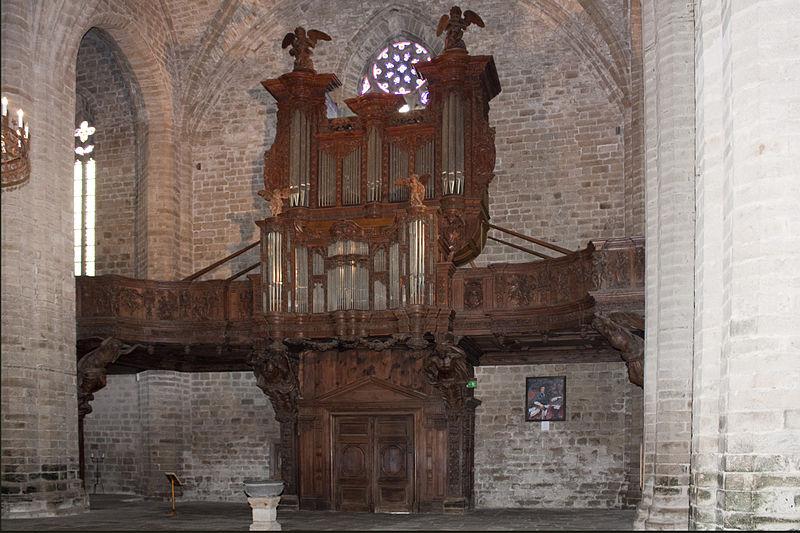 File abbaye saint robert de la chaise dieu orgue wikimedia co - Technique de la chaise ...