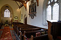 Abbess Roding - St Edmund's Church - Essex England - north side of nave.jpg