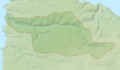 Abbey River (Devon) map.png