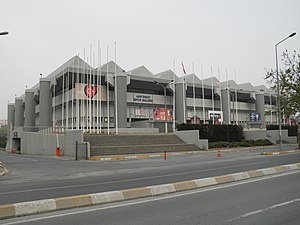 Eurovision Song Contest 2004 - Abdi İpekçi Arena in Istanbul, the 2004 venue.
