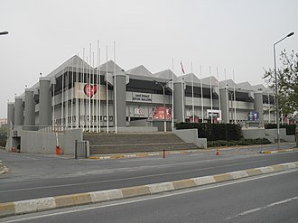 Eurovision Song Contest 2004 - Abdi İpekçi Arena, Istanbul – host venue of the 2004 contest.