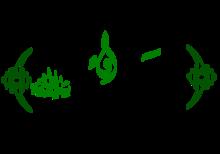 Abdul-Qadir Gilani's name in Arabic calligraphy.png