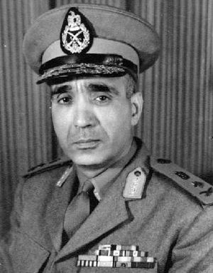 United Arab Command - Abdul Munim Riad (1919-1969), commander-in-chief of the United Arab Command from 1967.