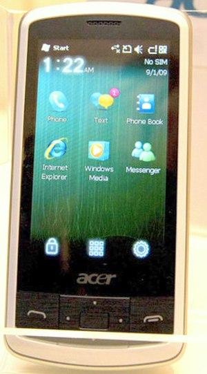 Acer beTouch E100/E101 - Acer beTouch E100