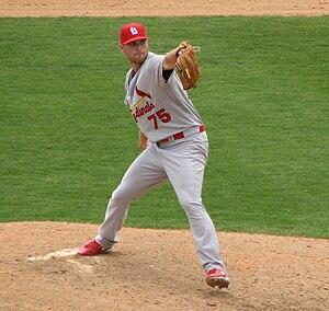 Adam Ottavino - Ottavino pitching for the St. Louis Cardinals in 2010 spring training