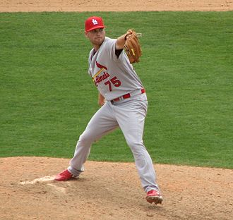 Adam Ottavino - Ottavino pitching for the St. Louis Cardinals in 2010 spring training