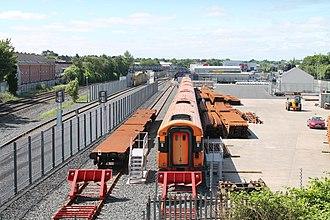 Adelaide railway station (Northern Ireland) - Image: Adelaide depot 3