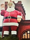 Adelaides Big Santa on the Central Market tower.jpg