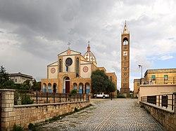 Adigrat, cattedrale del Salvatore, esterno 01.jpg