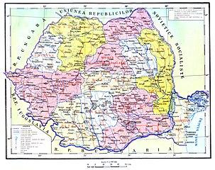 Regiuni si raioane 1960-1968