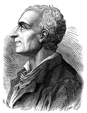 Separation of powers in Singapore - An engraving of Montesquieu (1689–1755) by Émile Bayard, published in Album du centenaire (1889). Montesquieu wrote in The Spirit of the Laws (1748) that arbitrariness and tyranny would result if executive, legislative and judicial powers were united in the same person.