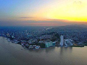 Guayaquil - Aerial view of Guayaquil