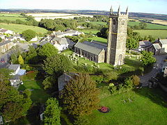 Aerial view of St Mabyn.JPG