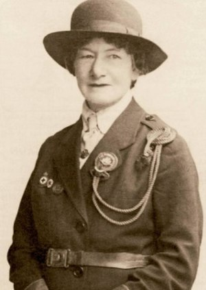 Agnes Baden-Powell - Portrait of Agnes Baden-Powell